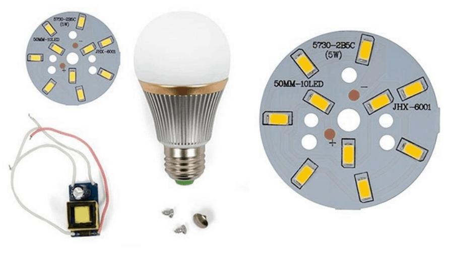 LED PCB Bulb