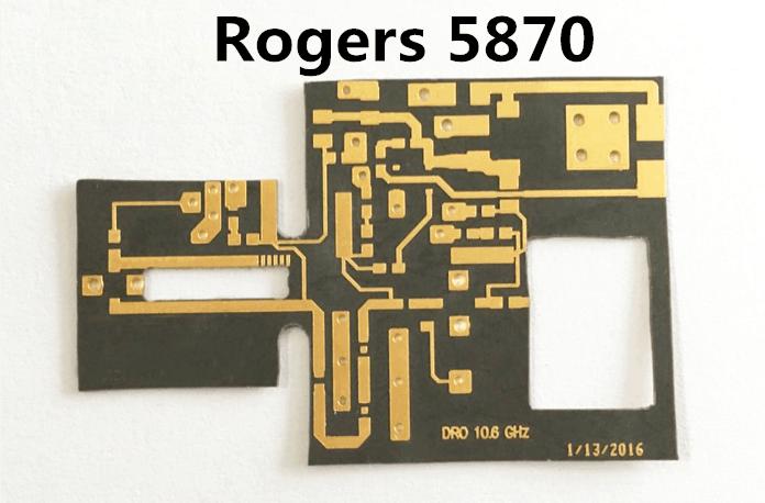 Rogers 5870 PCB