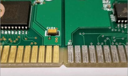 gold finger Signal Transfer