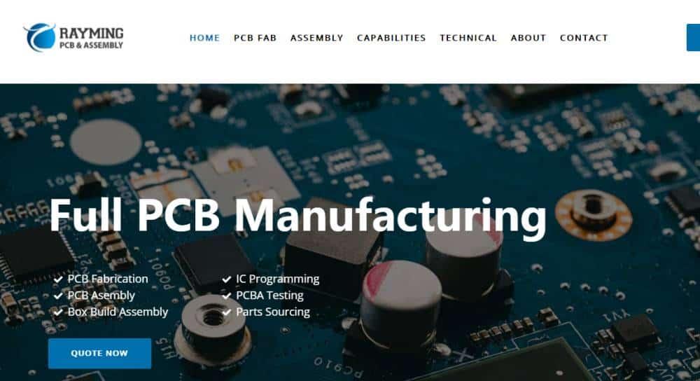 RayMING PCBA assembly